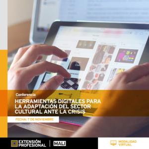 Curso: Herramientas digitales para la adaptación del sector cultural ante la crisis