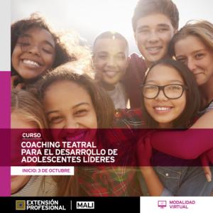 Curso: Coaching teatral para el desarrollo de adolescentes líderes