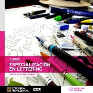 Curso: Especialización en lettering