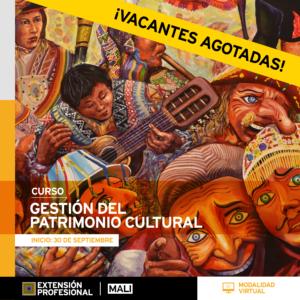 Curso:Gestión del patrimonio cultural